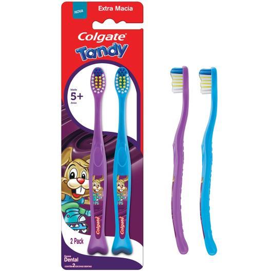 2 Escova Dental Colgate Tandy - Imagem em destaque
