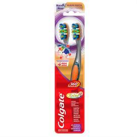 Escova Dental Colgate 360 Macia 2un Promocional Leve 2 Pague 1