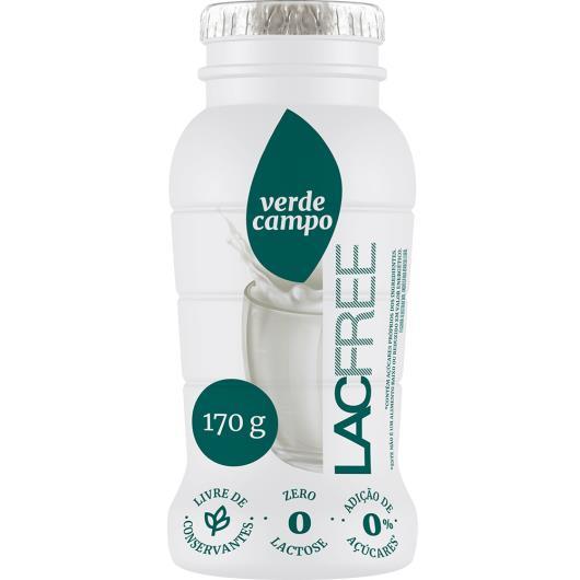Iogurte Desnatado Tradicional Zero Lactose Verde Campo Lacfree Frasco 170G - Imagem em destaque