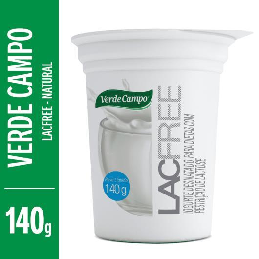 Iogurte natural Lacfree Verde Campo 140g - Imagem em destaque