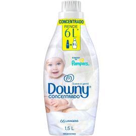 Amaciante suave e gentil Downy 1,5l