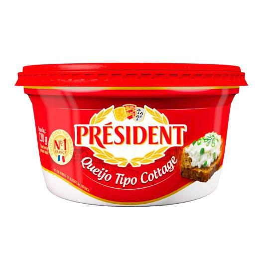 Queijo cottage President 220g - Imagem em destaque