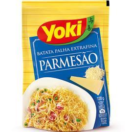 Batata Palha Yoki Parmesão 120g