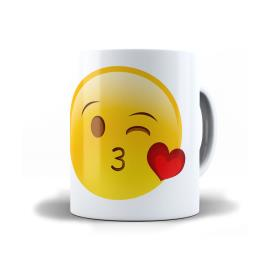 Caneca porcelana emotion smile Krystalmix 1un.