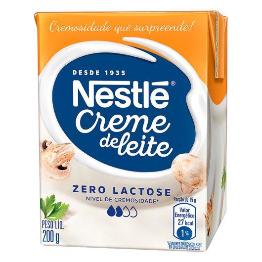 Creme de Leite NESTLÉ Zero Lactose 200g - Imagem em destaque
