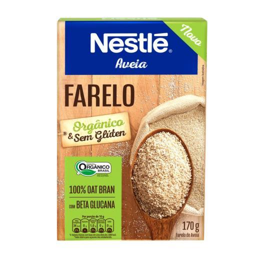 Aveia organica farelo Nestle 170g - Imagem em destaque