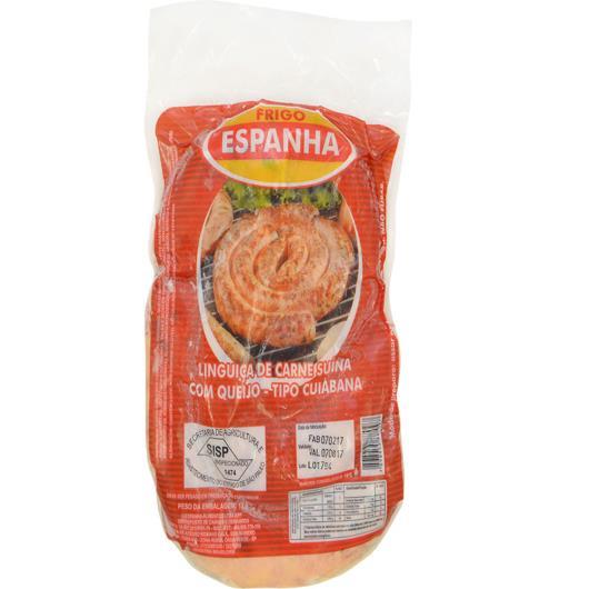 Linguiça tipo Cuiabana congelada Frigo Espanha Suína c/ Queijo 900g - Imagem em destaque
