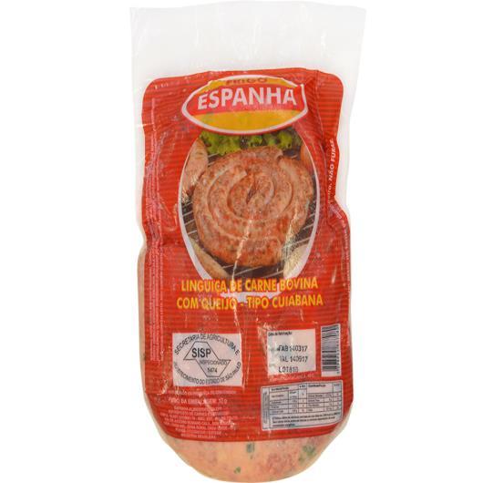 Linguiça tipo Cuiabana congelada Frigo Espanha Bovina c/ Queijo 900g - Imagem em destaque