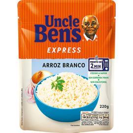 Arroz branco Express Uncle Bens 220g