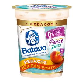 Iogurte zero pessego Pense Zero Batavo 100g