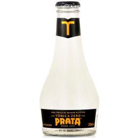 água Tônica Prata Zero 200ml