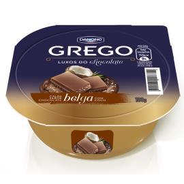 Iogurte chocolate belga Grego Danone 100g