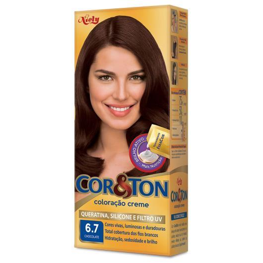 Coloração creme 6.7 chocolate Cor&Ton unidade - Imagem em destaque