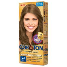 Coloração creme 7.1 louro cinza médio Cor&Ton unidade