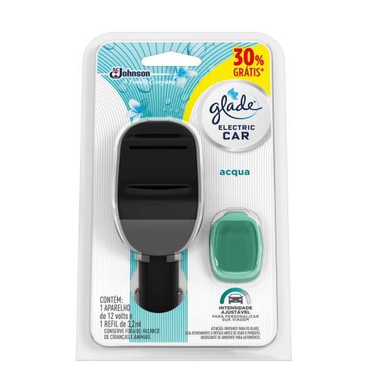Odorizador Glade Eletric Car Acqua Aparelho + Refil 30% grátis - Imagem em destaque