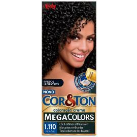 Coloração Creme Cor&Ton 1.110 Preto Onix
