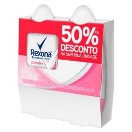 2 Desodorantes Rexona Roll On Powder 50% Desconto Segunda unidade 100ML