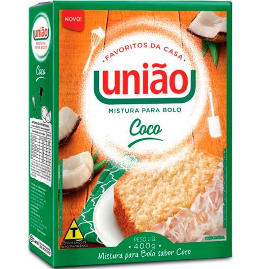 Mistura Bolo União Coco 400g - Imagem em destaque