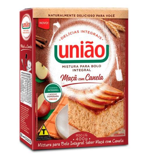 Mistura de bolo integral maçã com canela União 400g - Imagem em destaque