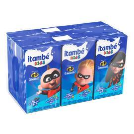 Leite Fermentado Itambé Kids c/ 6 unids de 80g