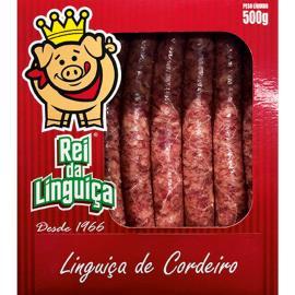Linguiça Rei da Linguiça Cordeiro 500g