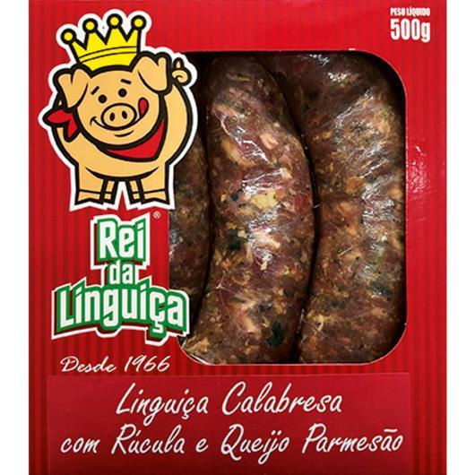 Linguiça Rei da Linguiça Calabresa c/ Rúcula e Queijo 500g - Imagem em destaque