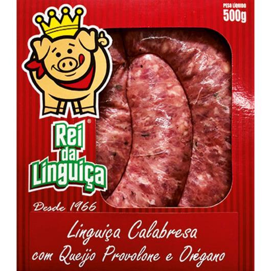 Linguiça Rei da Linguiça Calabresa c/ Queijo e Orégano 500g - Imagem em destaque