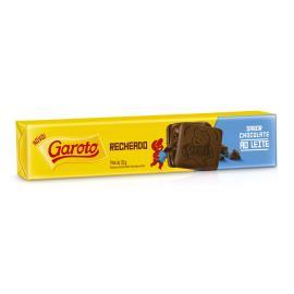 Biscoito GAROTO Recheado Chocolate 130g