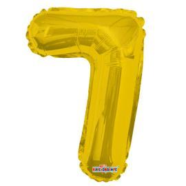 Balao Minishape n.7 dourado Regina 1un