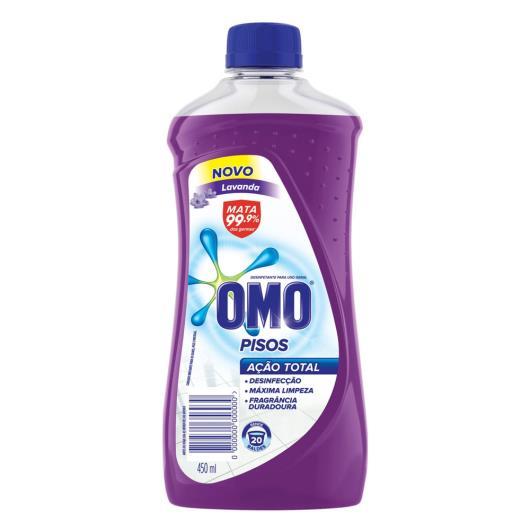 Desinfetante Omo Pisos Lavanda 450ml - Imagem em destaque