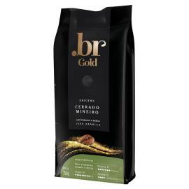 Café cerrado mineiro torrado moído Gold Br 250g