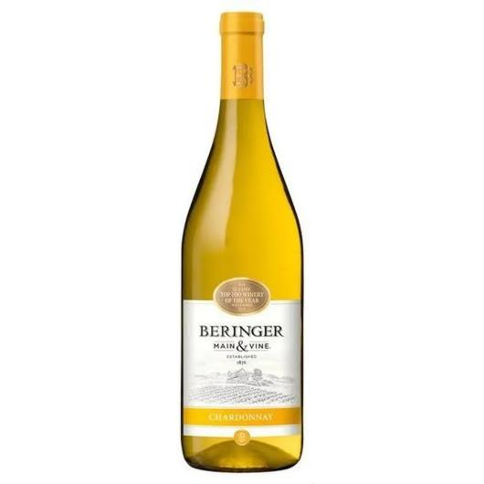 Vinho americano branco chardonnay Behringer vidro 750ml - Imagem em destaque