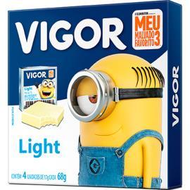 Queijo processado minions light vigor 68g 4un