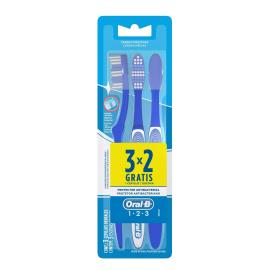 Escova de Dente Oral Protetor Antibacteriano Leve 3 Pague 2