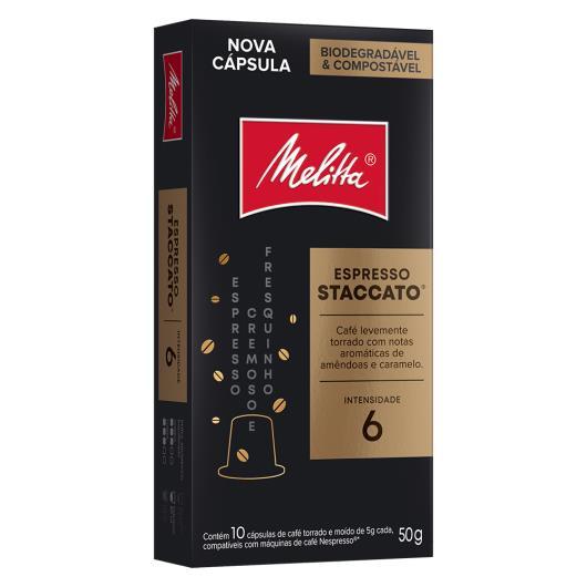 Cápsula de Café Melitta Espresso Staccato 10 unids. - Imagem em destaque
