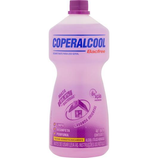 Álcool Coperalcool Bacfree Lavanda Oriental 1L - Imagem em destaque
