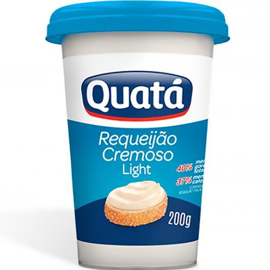 Requeijão Quatá Cremoso Light 200g - Imagem em destaque
