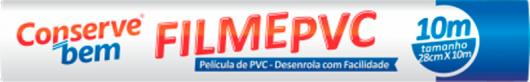 Filme PVC 28cmx10m ConserveBem unidade - Imagem em destaque