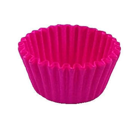Forminha papel n.5 rosa Confesta 100 unidades - Imagem em destaque