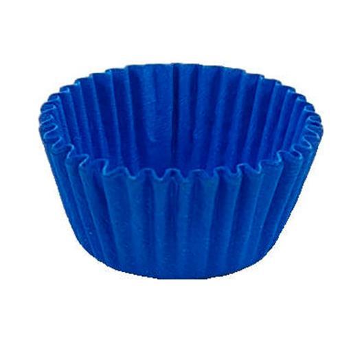 Forminha papel n.6 azul Confesta 100 unidades - Imagem em destaque