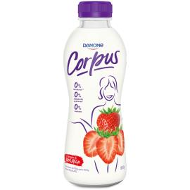Iogurte Corpus Danone morango Zero Lactose 850g