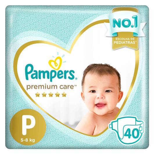 Fralda Descartável Pampers Premium Care P 40 unids. - Imagem em destaque