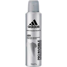 Desodorante aerossol pro invisible masculino Adidas 150ml