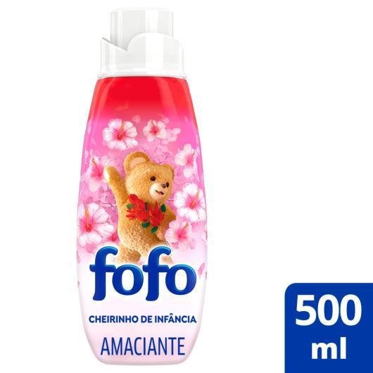 Amaciante Super Fofo Concentrado cheirinho de infância 500ml - Imagem em destaque