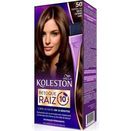 Coloração Koleston 50 Retoque Raiz Castanho Claro