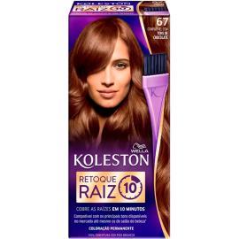 Coloração Koleston 67 Retoque Raiz Chocolate