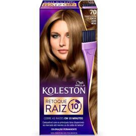 Coloração Koleston 70 Retoque Raiz Louro Médio