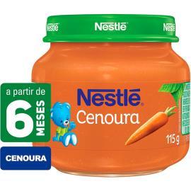 Papinha de cenoura Nestlé 115g