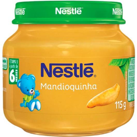 Papinha mandioquinha Nestlé 115g - Imagem em destaque