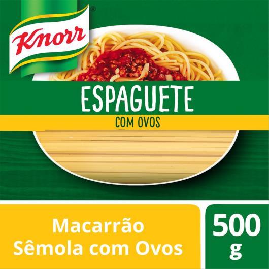 Macarrão Espaguete Knorr Sêmola Com Ovos 500 G - Imagem em destaque